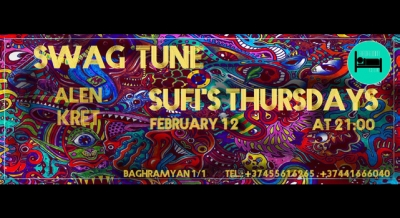 SUFI's THURSDAY at Bedroom club